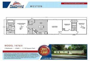 Fleetwood Weston 76I - WE16763I - FP