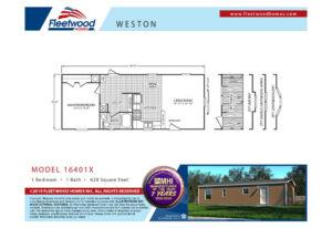 Fleetwood Weston 40 - WE16401X - FP
