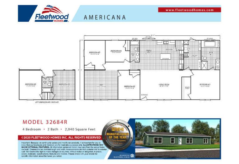 Fleetwood Americana 3268 - AE32684R